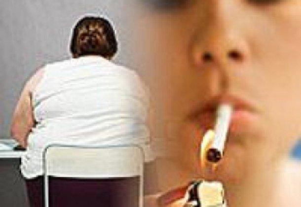 После курения толстеют